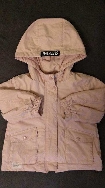 Przejściowa kurtka wiosenna snoopy Zara rozm 92