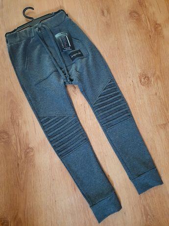 Mega WYPRZEDAŻ. Spodnie despacito 128 szare