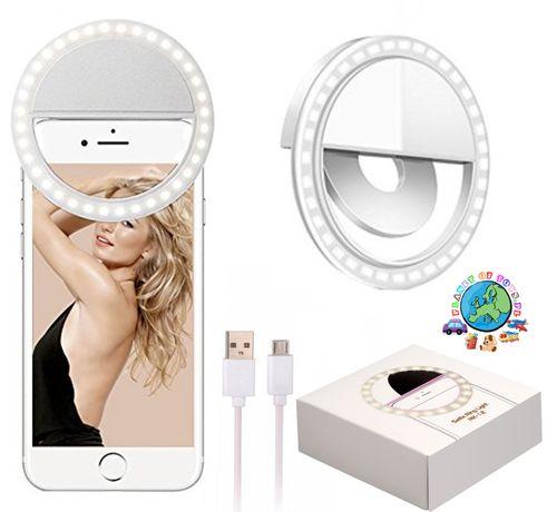 Lampa pierścieniowa LED do selfie