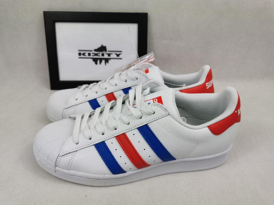 Nowe Oryginalne Buty Adidas Superstar Americana 40 2/3 25,5cm Poznań - image 1