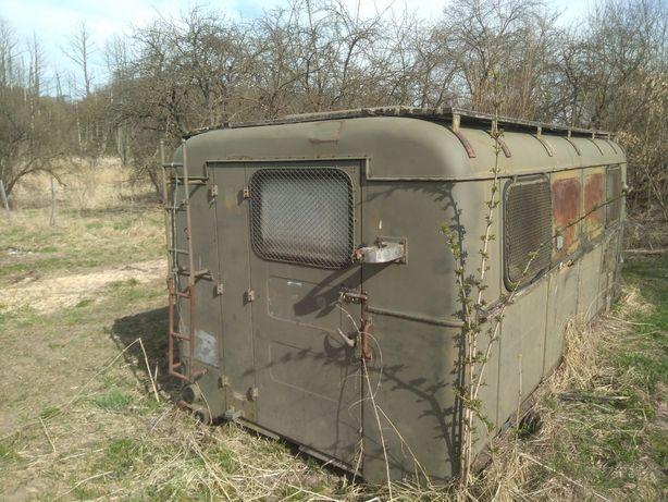 Pakamera wojskowa garaż barak kontener