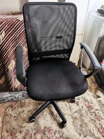 Fotel biurowy regulowany