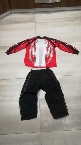 Zestaw bramkarski strój Spodnie bramkarskie bluza bramkarska bramkarza