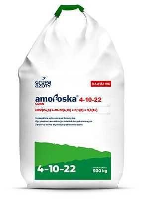 Amofoska corn 4-10-22 tona worki grupa azoty