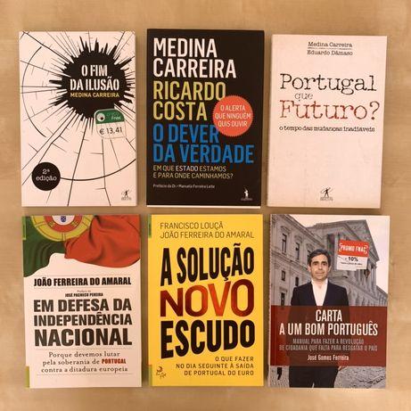 Livros Política Economia