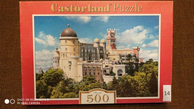 Puzzle używane kompletne Trefl Castorland