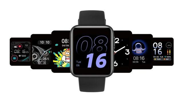 Xiaomi Mi Watch Lite czarny NOWIUTKI GPS, 5 ATM, wodoodporność 50m