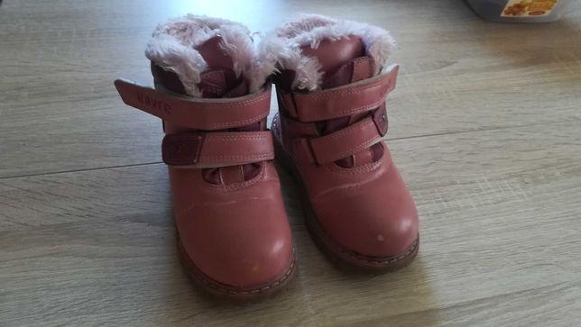 Buty zimowe dla dziewczynki r. 25