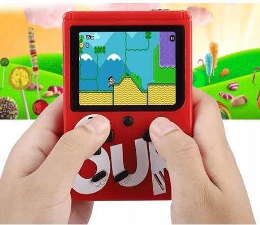 Mini przenośna konsola retro gra 400 W 1 gry zabawa