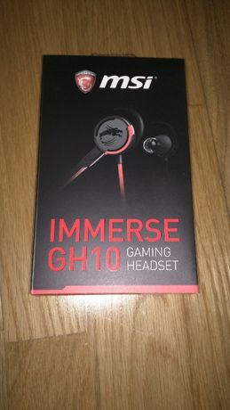 Vendo Auriculares MSI Immerse GH10