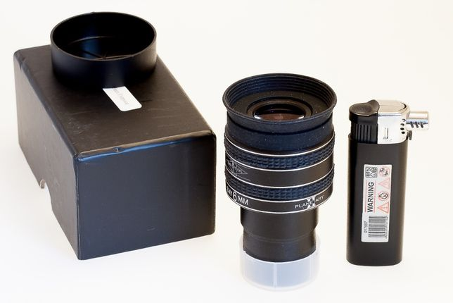 SVBONY 1,25 дюймов окуляр SWA 58 градусов 6 мм планетарный окуляр