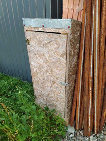 Budka, szafka na ujęcie wody, kran/na budowę