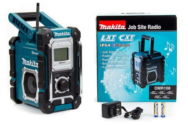MAKITA DMR108 Radio Budowlane Bluetooth mocne i Solidne Radio