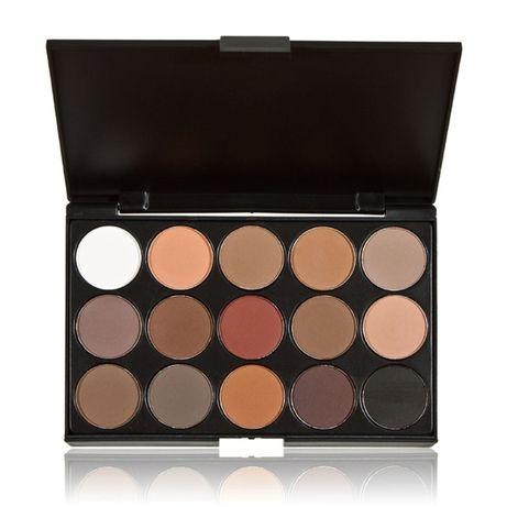 Тени Палитра теней 15 цветов Mac Cosmetics матовых теней 15 MAC