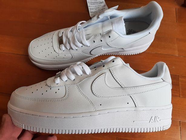 Nike Air Force AF1 brancos, 39 - novos