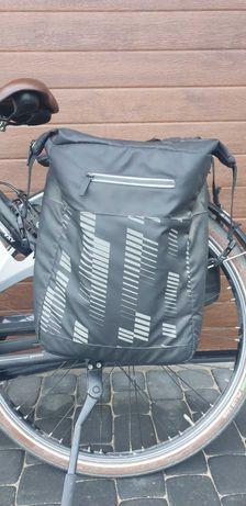 Sakwa rowerowa wodoodporna 2 x 20L