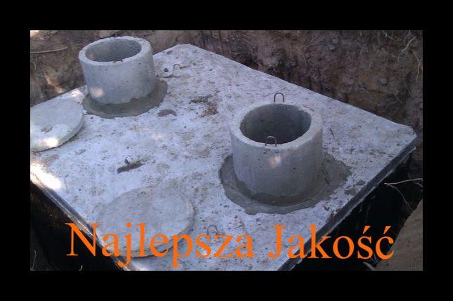 szambo 13m3 szamba betonowe zbiornik na wodę kanał betonowy piwnica