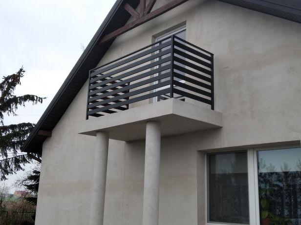 Balustrady panelowe palisada nowoczesne bramy