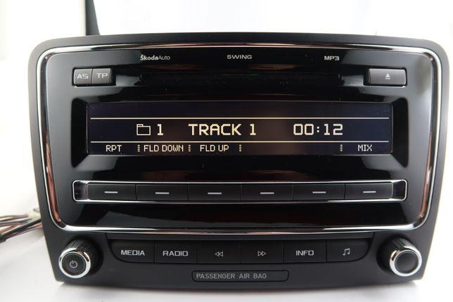Radio Cd MP3 Swing Skoda Super B + kod