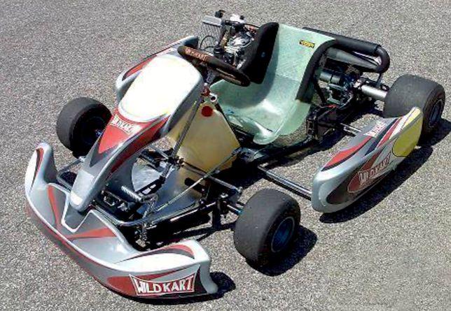Kart - Chassis WIld e Rotax Max 125 cc - 29cv