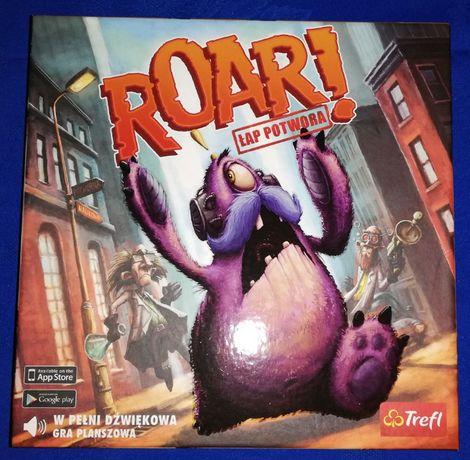 ROAR Łap potwora, przygodowa, dźwiękowa gra planszowa - OKAZJA!