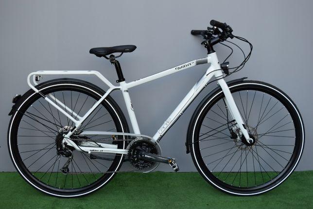 """Rower nowy włoski Wilier Trestina Caorle 3x9 Shiamano Deore biały """"S"""""""