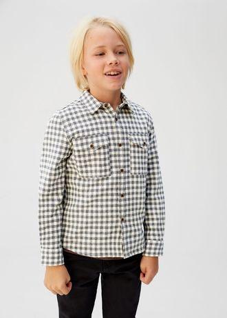 Продам рубашку Mango 122-128