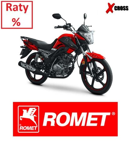 Motocykl Romet Naked ZXT 125 Dostawa Raty na kat. B
