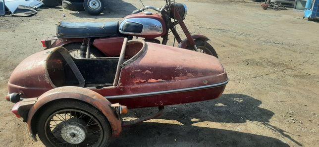 Ява 350м 1974 г с коляской