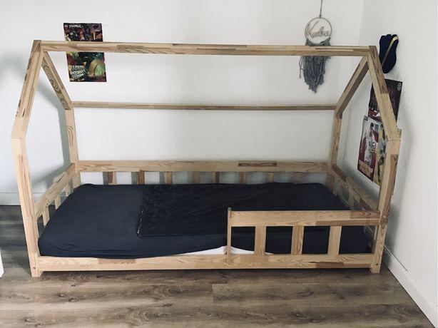 Łóżko domek skandynawski