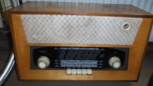 zabytkowe radio .
