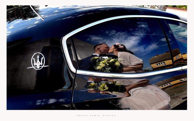 MASERATI GHIBLI SQ4 do Ślubu 468KM! Nie Mercedes Porsche Bentley Audi