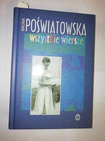 Książka H. Poświatowska Wszystkie wiersze