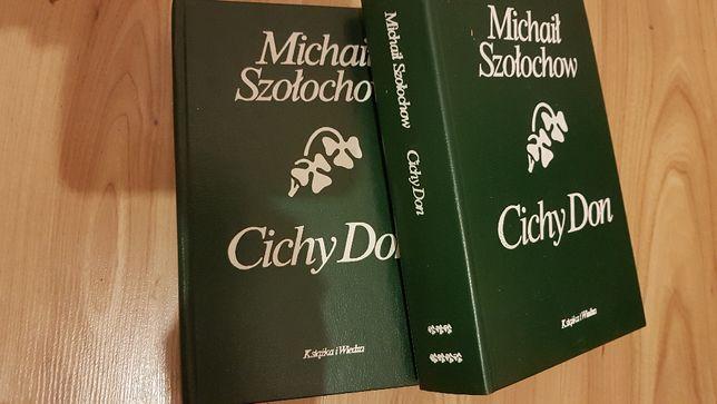 Cichy Don - Michaił Szołochow - 4 tomy - książki w twardej oprawie