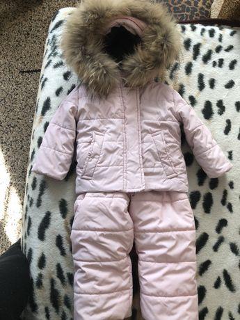 Зимний костюм куртка и комбенизон