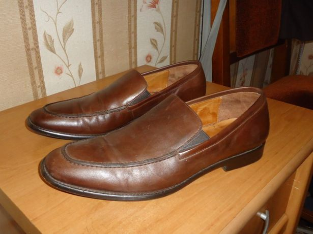 Мужские кожаные туфли VERO CUCIO размер 41 (27)