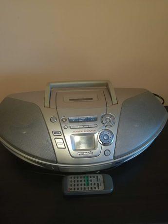 Sprzedam idealny radiomagnetofon CD Panasonic RX-ES25 z pilotem