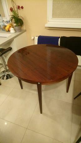 Stół okrągły PRL