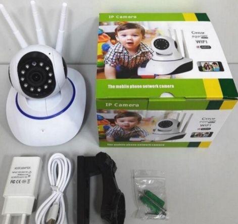 Беспроводная поворотная IP камера видеонаблюдения WiFi microSD ZN09 на