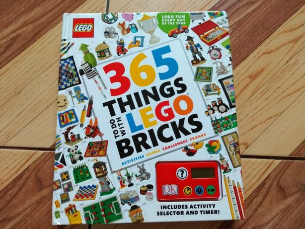 365 Things to Do with LEGO Bricks Książka dla dzieci