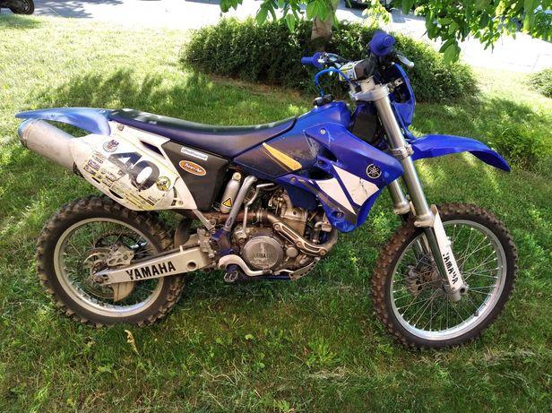 Yamaha WR 450 F możliwość rejestracji