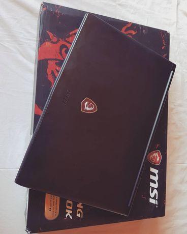 Laptop gamingowy MSI Intel i7 GTX 1050Ti 16gb SSD + 1tb HDD 17.3 cala