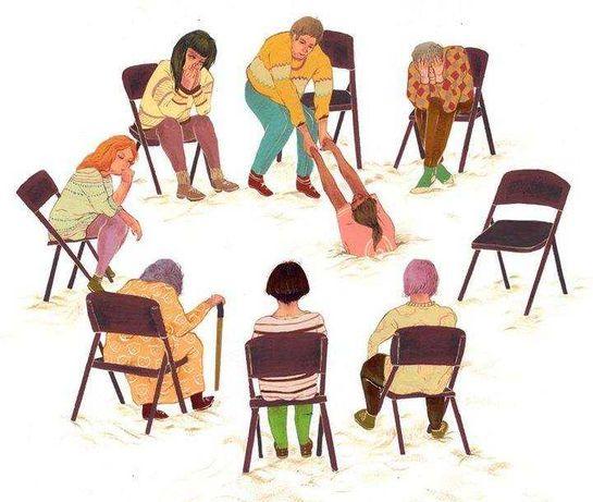 Группа психологической поддержки в Мариуполе