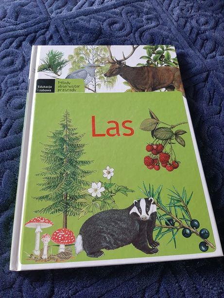 Książka LAS młody obserwator przyrody