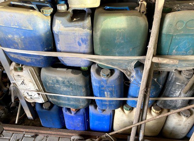 Канистры под дизельное топливо 10, 20 и 30 литров