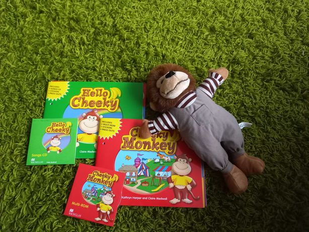 Hello Cheeky i Cheeky Monkey plus maskotka!