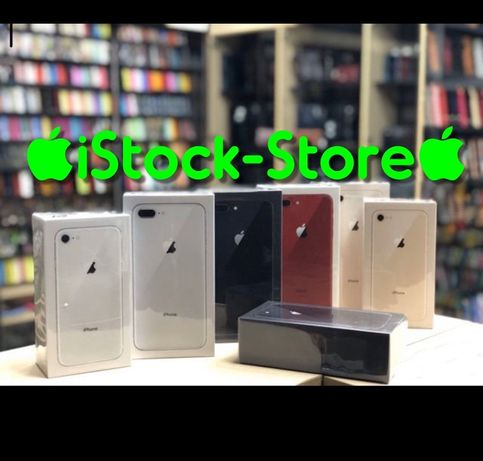 Оригинал iPhone 8+ 64/256 Днепр. New. Silver Gold Red Space Gray
