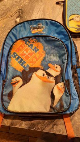 Plecak dla dziecka Pingwiny z Madagaskaru średni