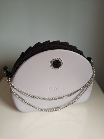 Nowy łańcuszek Srebrny naramienny do Obag Moon Light dług 120cm