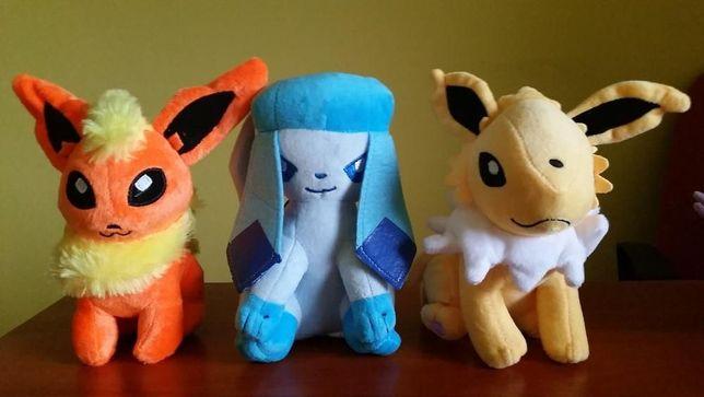 Maskotki Pokemon - Flareon, Glaceon, Jolteon, Espeon, Leafeon, Umbreon